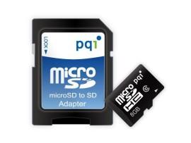 Pamäťová karta MICRO SDHC 8GB PQI Class 10