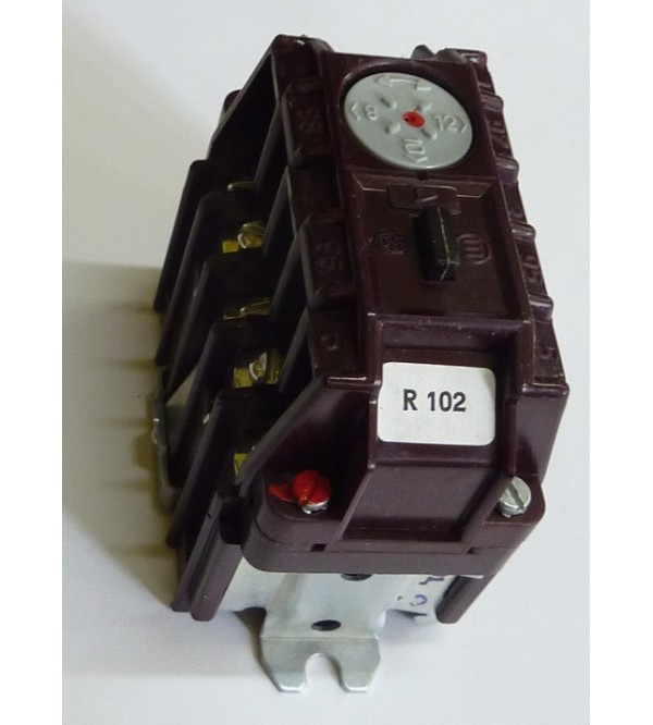 Nadprúdové relé R100 380V 7A