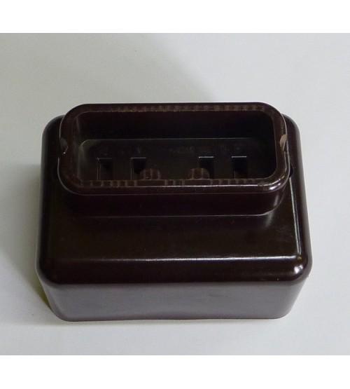 Zásuvka plochá 16A 380V 4P 5042-10