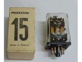 Časové relé R15 3PDT 220V 50Hz 10A